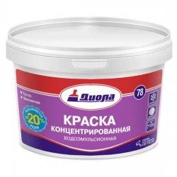КРАСКА В/ЭМУЛ.КОНЦЕНТР.Диола-78(208) 5 кг супербел
