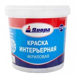 КРАСКА В/ЭМУЛЬС.Диола-214 акриловая 1,5 кг