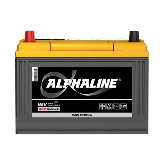 АКБ ALPHALINE AGM AX D26R (75Aч) ПРЯМОЙ