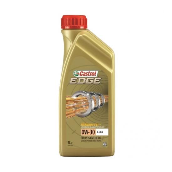 Моторное масло CASTROL 0W30 EDGE TITANIUM FST 1Л СИНТ