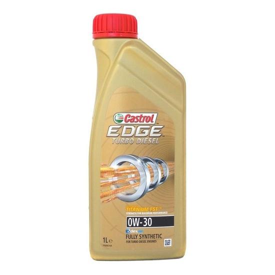 Моторное масло CASTROL 0W30 EDGE TURBO DIESEL TITAN 1Л СИНТ