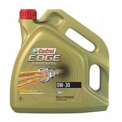 Моторное масло CASTROL 0W30 EDGE TURBO DIESEL TITAN 4Л СИНТ