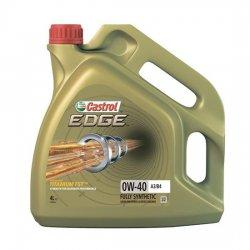 Моторное масло CASTROL 0W40 EDGE TITANIUM FST 4Л СИНТ