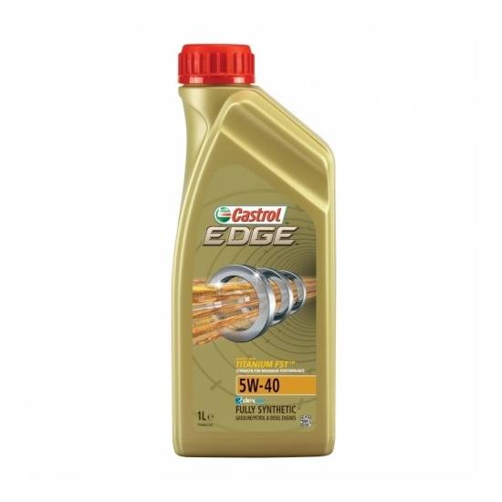 Моторное масло CASTROL 5W40 EDGE TITANIUM FST 1Л СИНТ