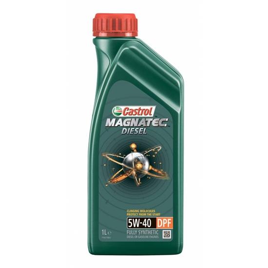 Моторное масло CASTROL 5W40 MAGNATEC DIESEL DPF СИНТ 1Л