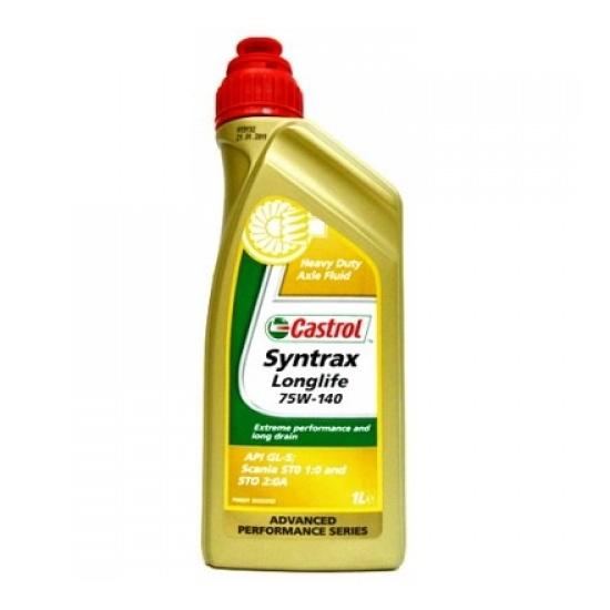 Трансмиссионное масло CASTROL SYNTRAX LONGLIFE  75W-140 1Л