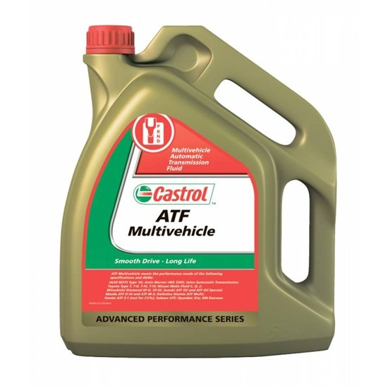 Трансмиссионное масло CASTROL  ATF MULTIVEHICLE 5Л