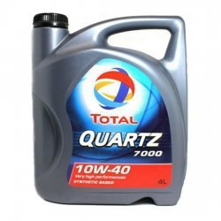 Моторное масло TOTAL QUARTZ 7000 10W40 4Л