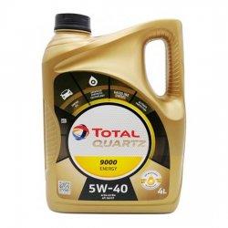 Моторное масло TOTAL QUARTZ 9000 ENERGY 5W-40 SN/CF синт 4л
