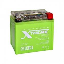 АКБ МОТО Xtreme UTX5,5L(YTX5L)-BS iGEL (5.5Ah) ОБРАТНЫЙ