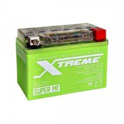 АКБ МОТО Xtreme UTX4,5L(YTX4L)-BS iGEL (4.5Ah) ОБРАТНЫЙ