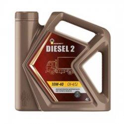 Моторное масло Rosneft Diesel 2 10w40 4л