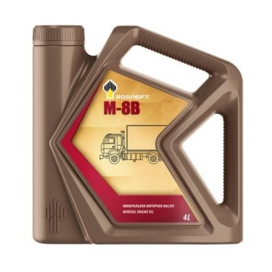 Моторное масло Rosneft марки М8-В  4л