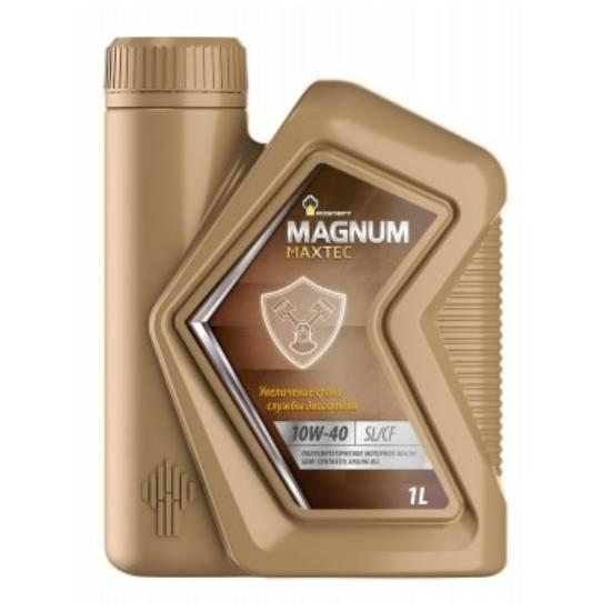 Моторное масло Rosneft Magnum Maxtec 10w40 SL/CF 1л