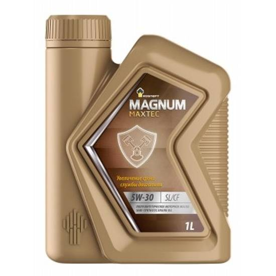 Моторное масло Rosneft Magnum Maxtec 5w30 SL/CF 1л