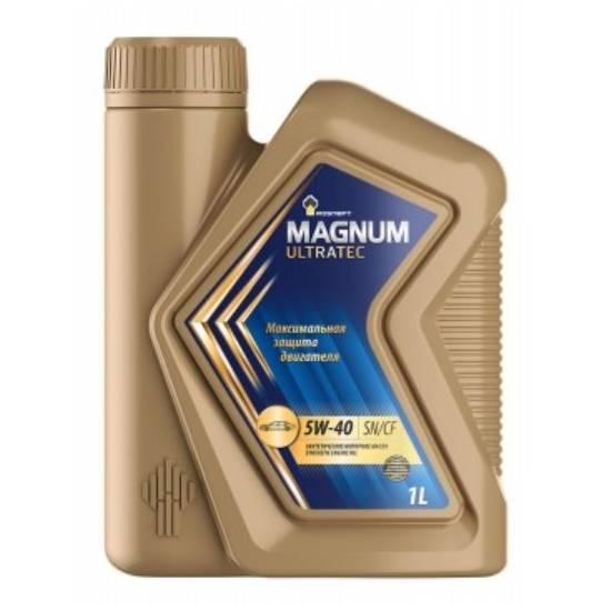 Моторное масло Rosneft Magnum Ultratec 5w40 SN/CF 1л