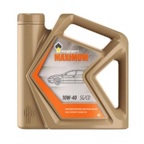 Моторное масло Rosneft Maximum 10w40 SG/CD 4л