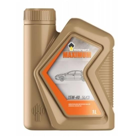 Моторное масло Rosneft Maximum 15w40 SG/CD 1л