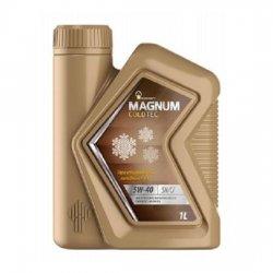 Моторное масло Rosneft Magnum Coldtec 5W-40 SN/CF синт 1 л