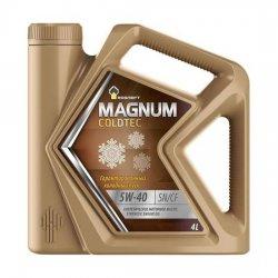 Моторное масло Rosneft Magnum Coldtec 5W-40 SN/CF синт 4 л