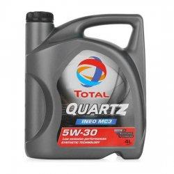 Моторное масло TOTAL QUARTZ INEO MC3 5W-30 синт 4 л