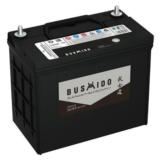 АКБ BUSHIDO Premium 75B24L 58Ач ОБРАТНЫЙ