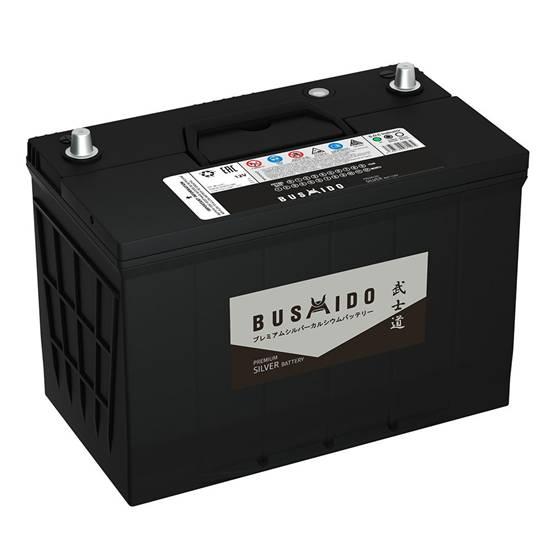АКБ BUSHIDO Premium 125D31R 105Ач ПРЯМОЙ