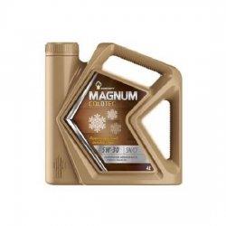 Моторное масло Rosneft Magnum Coldtec 5W-30 SN/CF синт 4 л