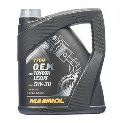Моторное масло Mannol 7709 O.E.M. for Toyota Lexus 5W-30 синт 4 л