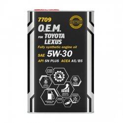 Моторное масло Mannol 7709 O.E.M. for Toyota Lexus 5W-30 синт Metal 1 л
