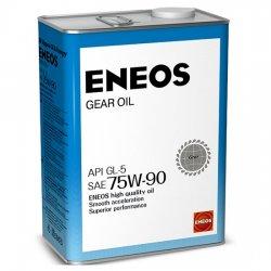 Масло трансмиссионное ENEOS GEAR GL-5 75W90 4 Л