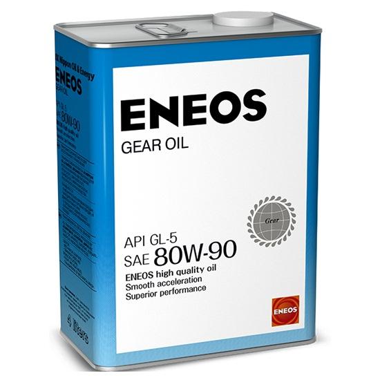 Масло трансмиссионное ENEOS GEAR GL-5 80W90 4 Л
