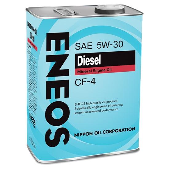 Моторное масло ENEOS CF-4 5W30 МИНЕРАЛЬНОЕ ДИЗЕЛЬ 4Л