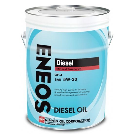 Моторное масло ENEOS CF-4 5W30  МИНЕРАЛЬНОЕ ДИЗЕЛЬ 20Л