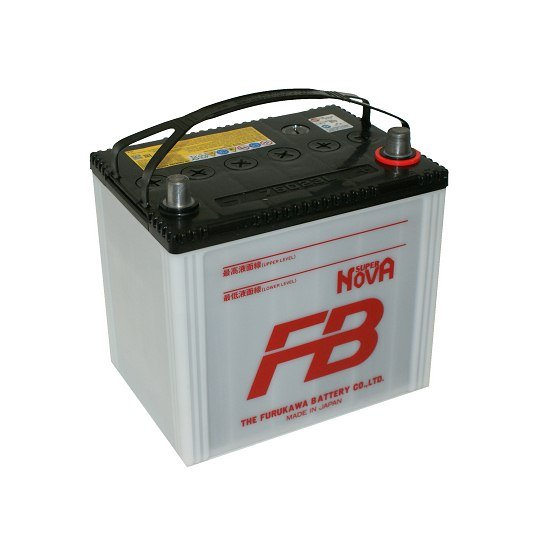 АКБ Super Nova 75D23L 65АЧ ОБРАТНЫЙ