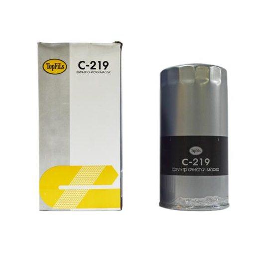Фильтр масляный TOP FILS C-219 15209-T9002