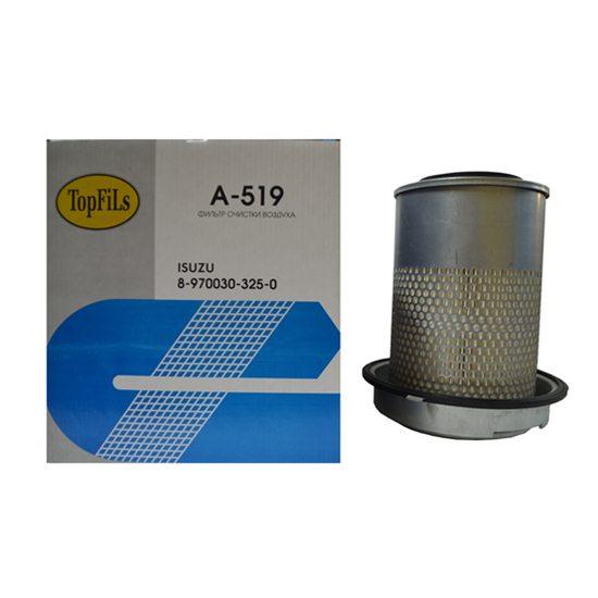 Фильтр воздушный TOP FILS A-519 8-97030325-0