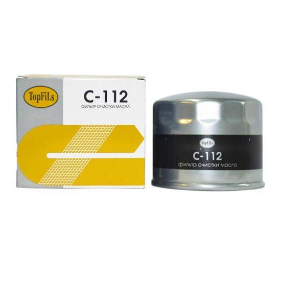 Фильтр масляный TOP FILS C-112 90915-03003