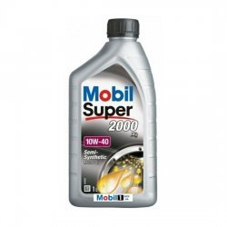 Моторное масло MOBIL СУПЕР 2000Х1 полусинтетическое 10W40 1л