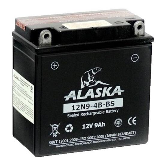 АКБ ALASKA МОТО 12N9-4B-BS 12 V 9 АЧ