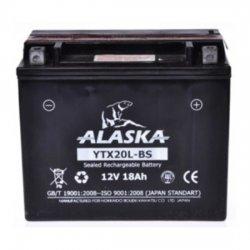 АКБ ALASKA МОТО YTX20L-BS 12 V 18 АЧ