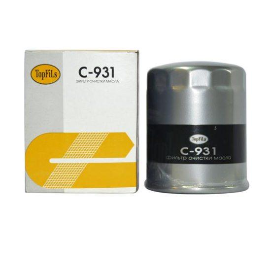 Фильтр масляный TOP FILS C-931 16510-83000