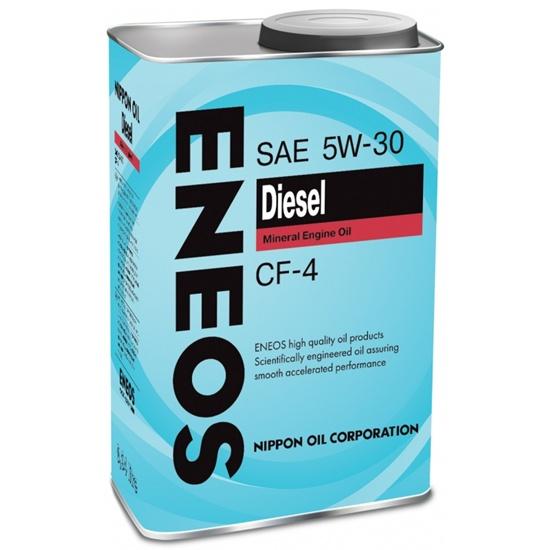 Моторное масло ENEOS CF-4 5W30 МИНЕРАЛЬНОЕ ДИЗЕЛЬ 1Л