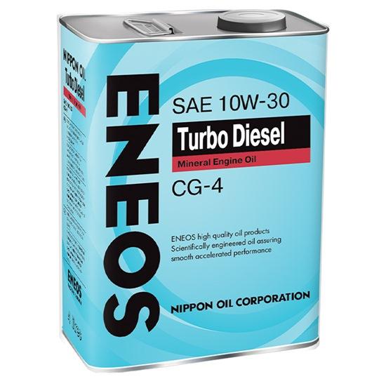 Моторное масло ENEOS CG-4 TURBO  10W30 4 Л