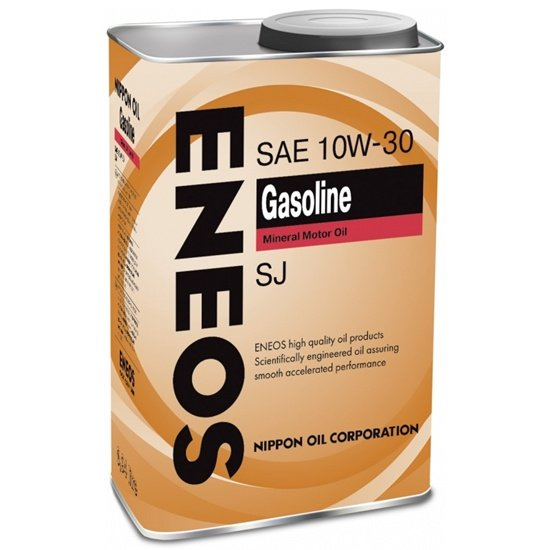 Моторное масло ENEOS GASOLINE SJ 10W30 1 Л