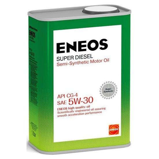 Моторное масло ENEOS CG-4 5W30 Diesel Super полусинт 1Л