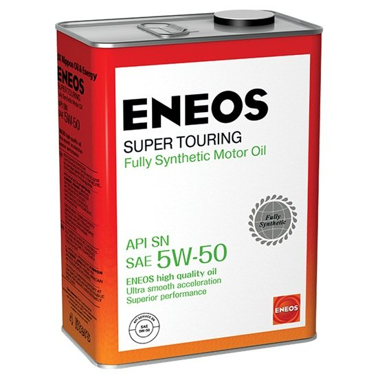 Моторное масло ENEOS SM 5W50  SUPER TOURING синтетич  4 Л