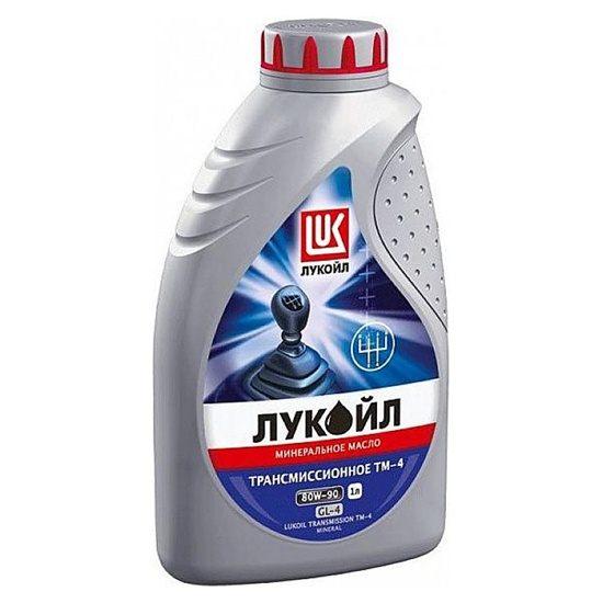 Трансмиссионное масло ЛУКОЙЛ ТМ-4 SAE 80W90 GL-4 миниральное 1л