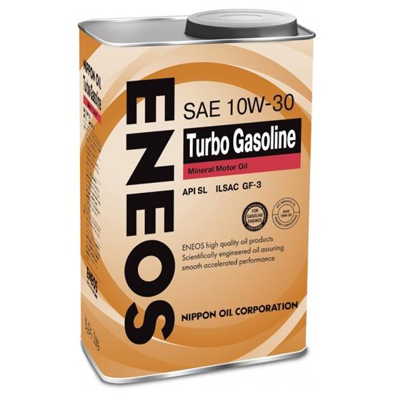 Моторное масло ENEOS SL TURBO GASOLINE 10W30 1 Л