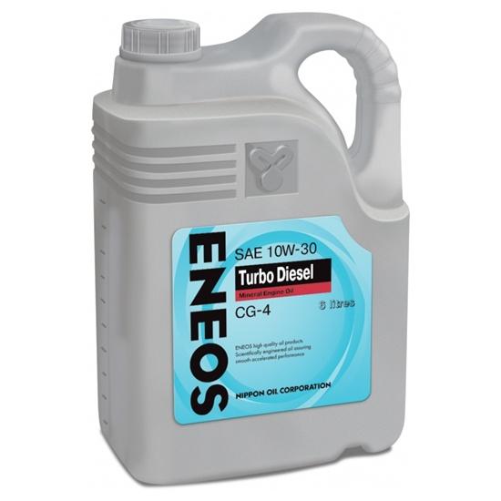 Моторное масло ENEOS CG-4 TURBO  10W30 6 Л